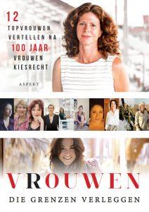 De omslag van het boek Vrouwen die grenzen verleggen